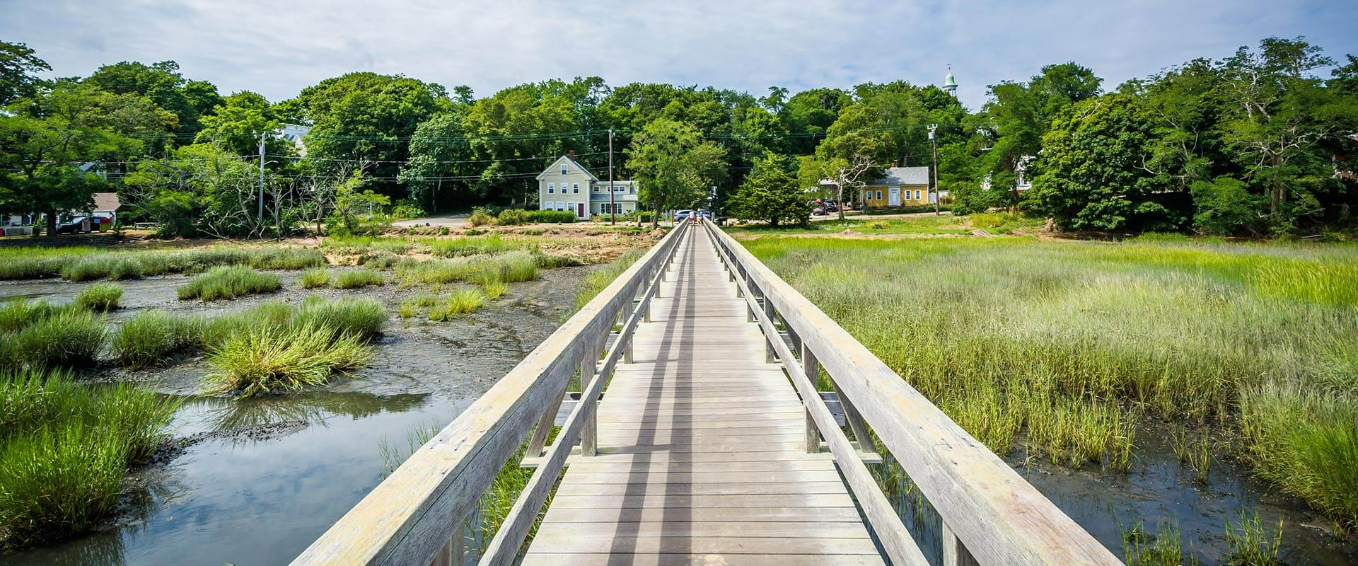 Uncle Tim's Bridge, in Wellfleet, Cape Cod, Massachusetts
